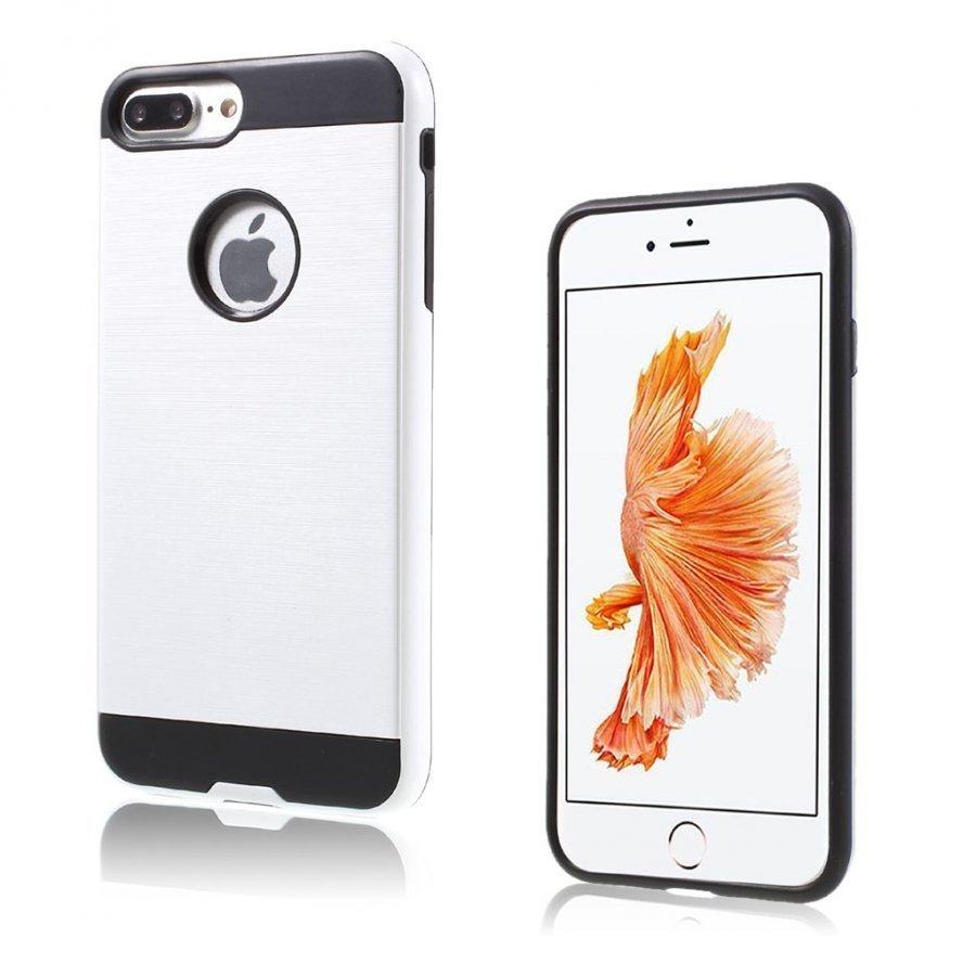 Åkesson Iphone 7 Plus Harjattu Joustava Muovikuori Valkoinen