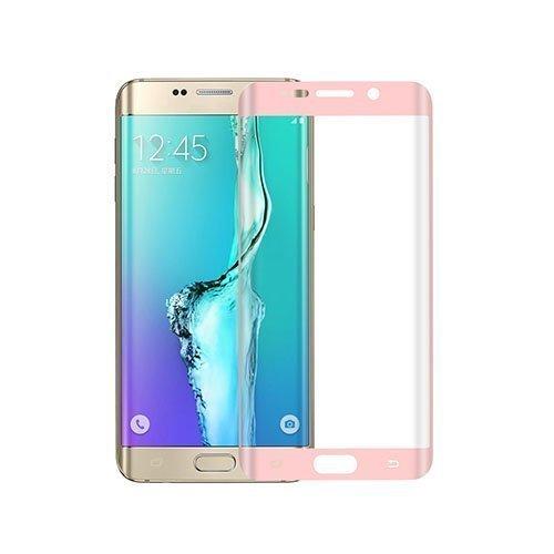 0.1mm Pet Kaareva Näytönsuoja Samsung Galaxy S6 Edge Plus Puhelimelle Pinkki