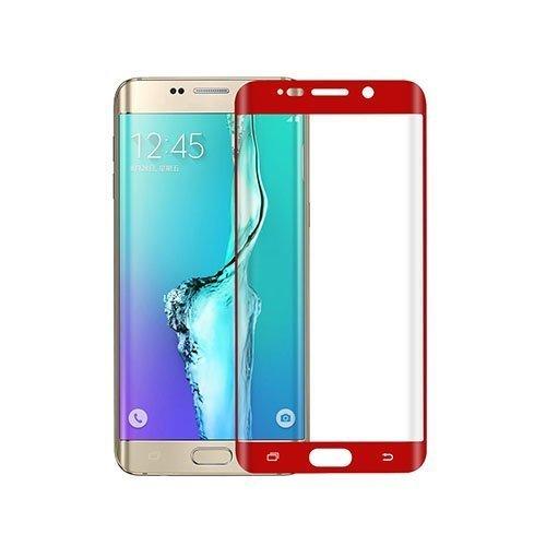 0.1mm Pet Kaareva Näytönsuoja Samsung Galaxy S6 Edge Plus Puhelimelle Punainen