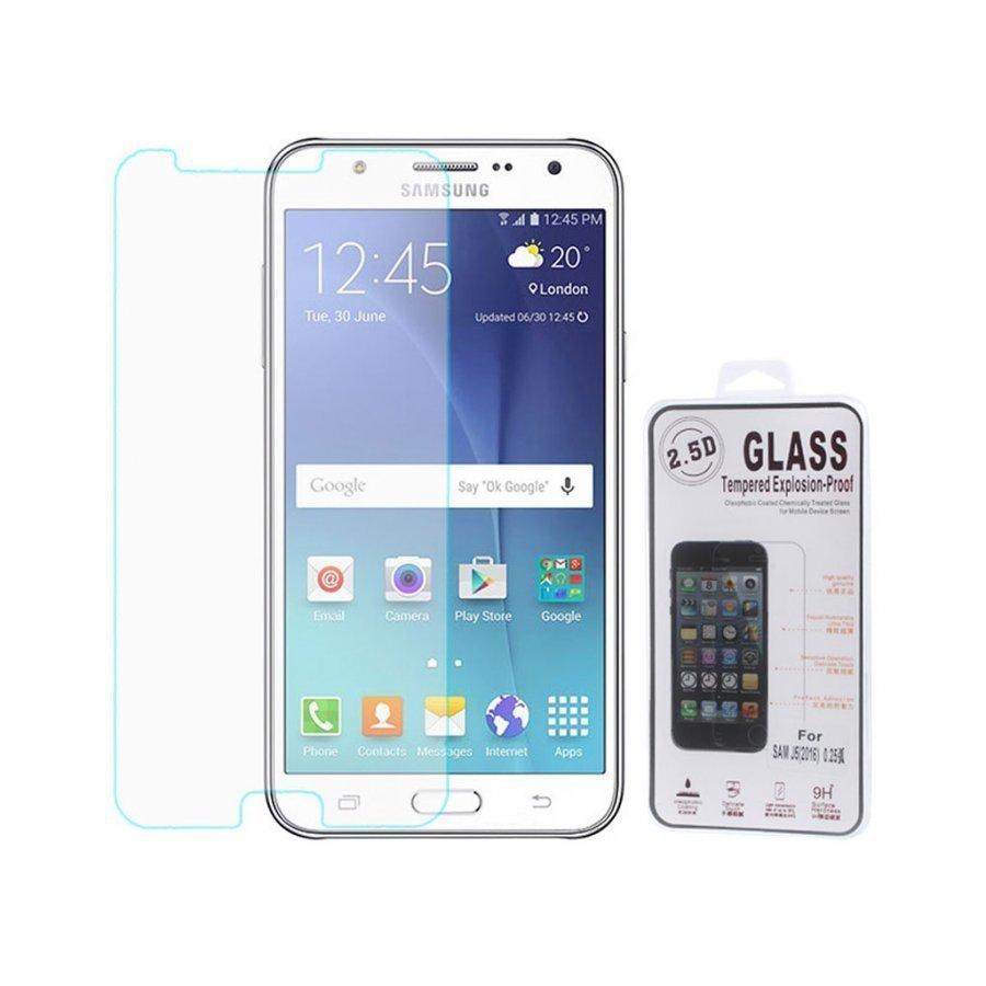 0.25mm Karkaistu Lasi Näytönsuoja Samsung Galaxy J5 2016 Kaari Reunat