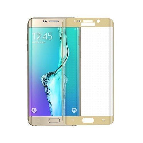 0.3mm Karkaistu Lasi Kaari Näytönsuoja Samsung Galaxy S6 Edge Plus Kulta
