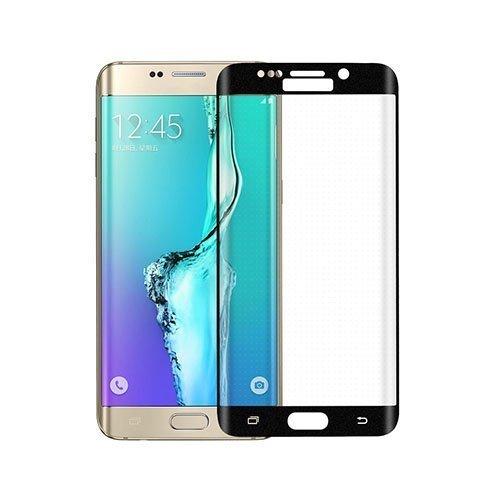 0.3mm Karkaistu Lasi Kaari Näytönsuoja Samsung Galaxy S6 Edge Plus Musta