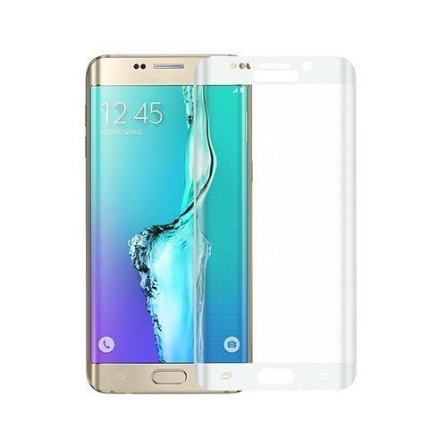 0.3mm Karkaistu Lasi Kaari Näytönsuoja Samsung Galaxy S6 Edge Plus Valkoinen