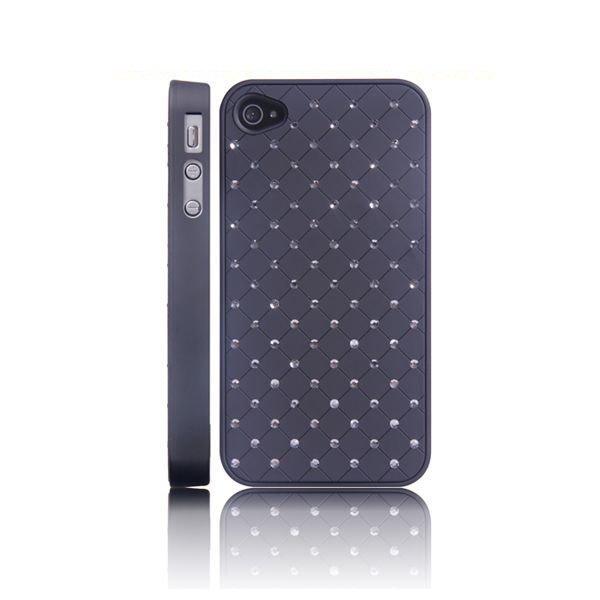 101 Stars Musta Iphone 4 / 4s Suojakuori