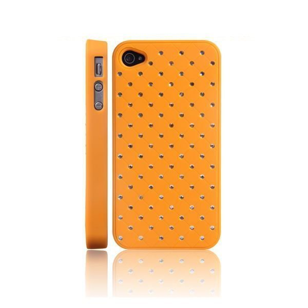 101 Stars Oranssi Iphone 4 / 4s Suojakuori