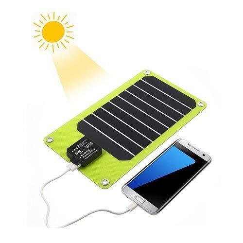 2-Porttinen Usb Aurinkopaneeli Älypuhelimille