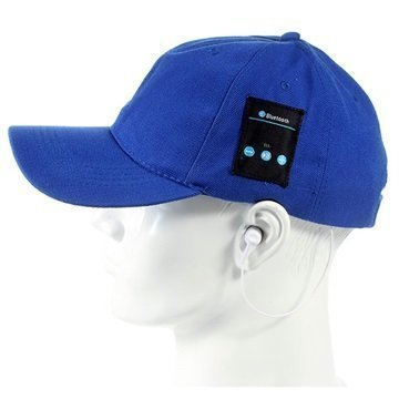 2-in-1 Baseball-Lippis Bluetooth-StereoKuulokkeet Sininen