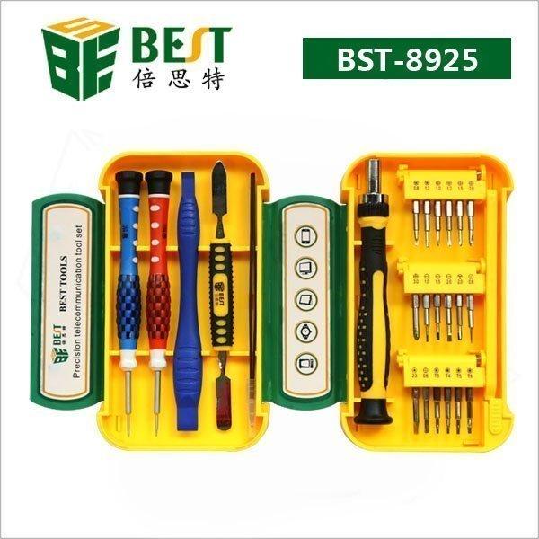 24-Osainen kompakti työkalusarja puhelimien korjaamiseen