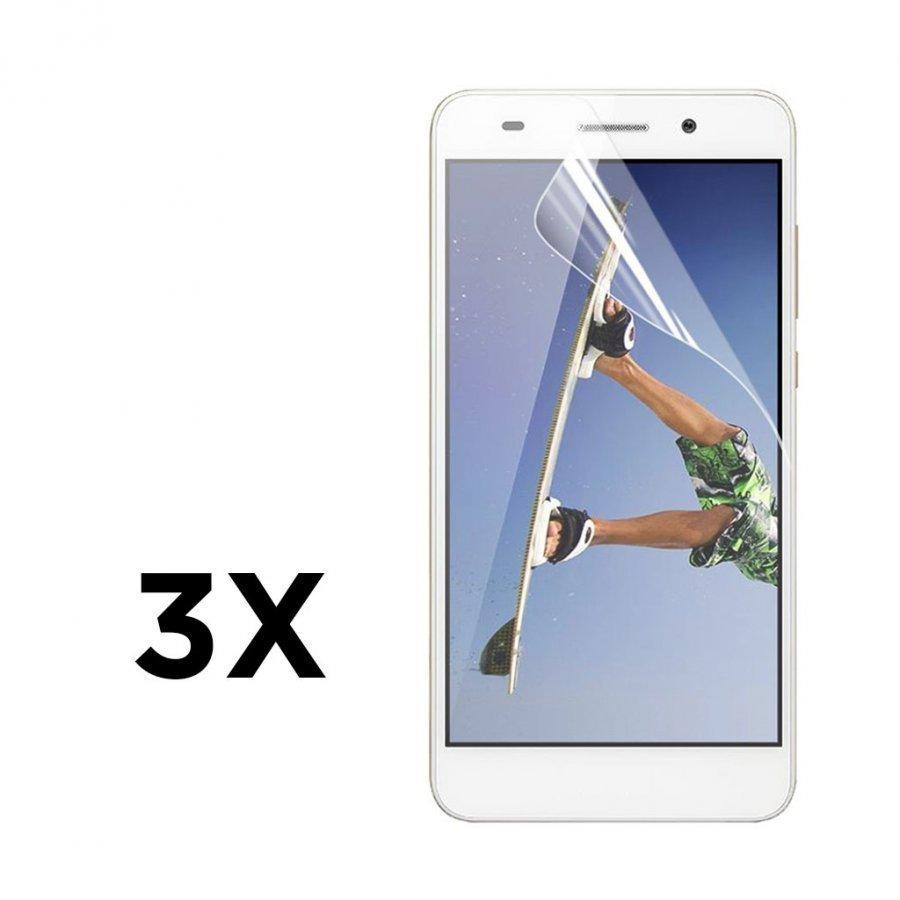 3-Pakkaus Enkay Kirkas Hd Pet Huawei Y6 Ii Näytön Suojakalvo