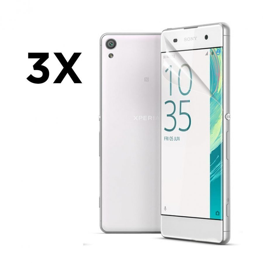 3-Pakkaus Kirkas Hd Lcd Sony Xperia Xa / Xa Dual Näytn Suojakalvo