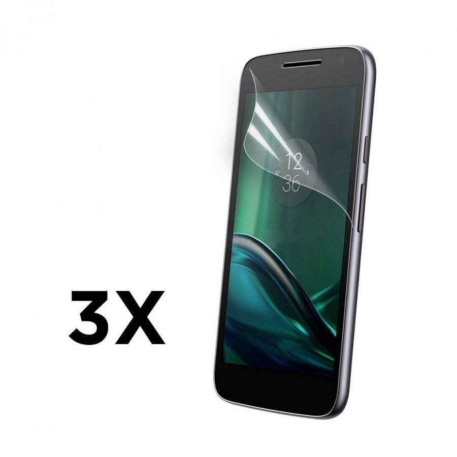 3-Pakkaus Motorola Moto G4 Play Erittäin Kirkas Lcd Näytön Suojakalvo