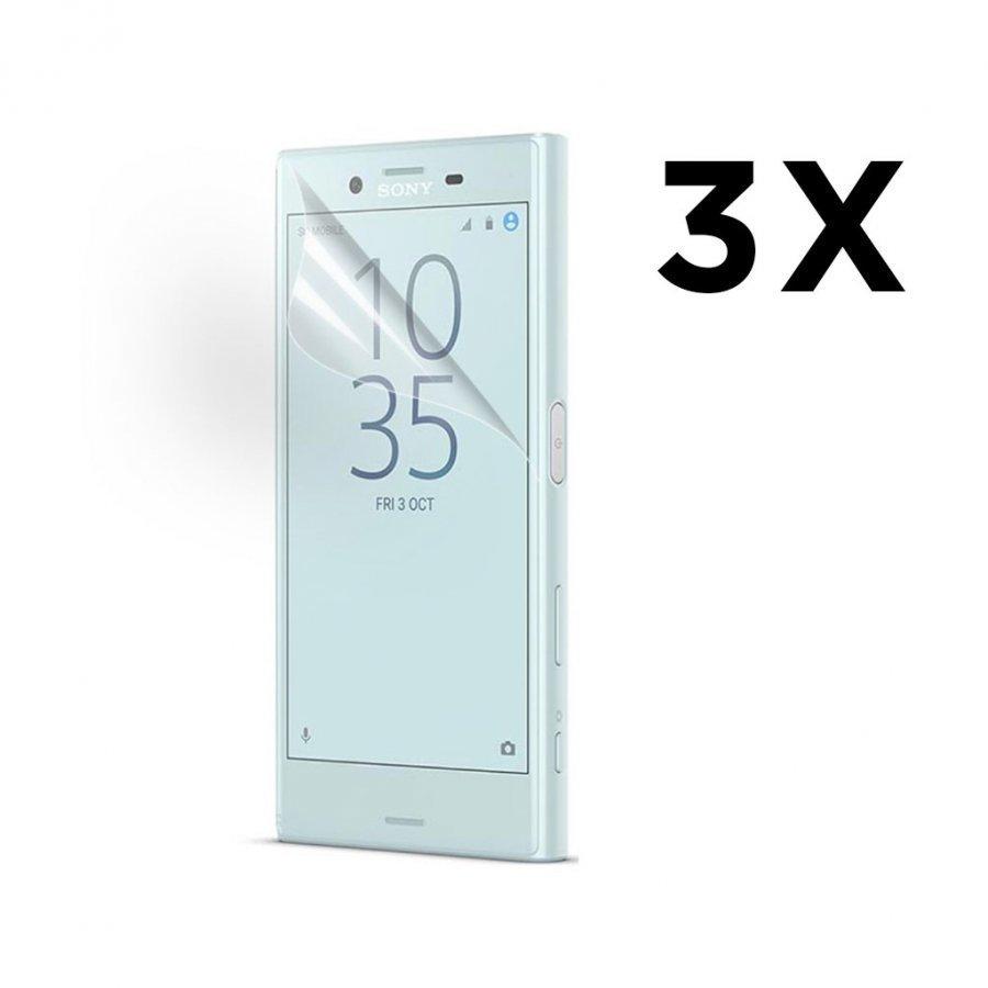 3-Pakkaus Sony Xperia X Compact Kirkas Lcd Näytön Suojakalvo