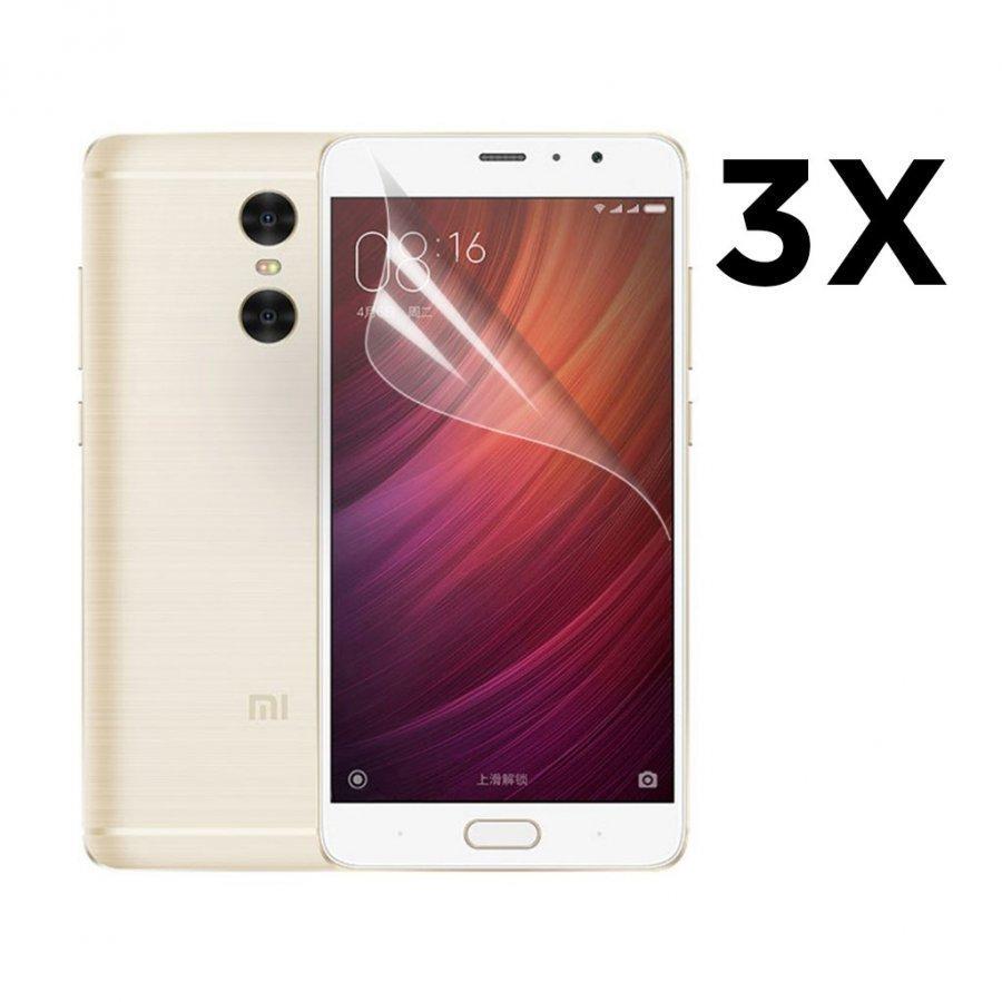 3-Pakkaus Xiaomi Redmi Pro Erittäin Kirkas Lcd Näytön Suojakalvo