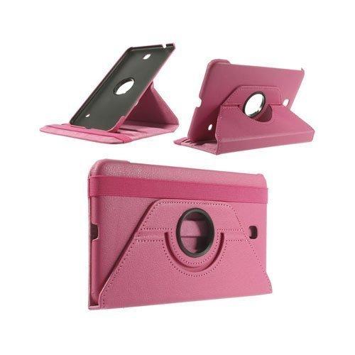 3-Sixty Kuuma Pinkki Samsung Galaxy Tab 4 8.0 Nahkakotelo