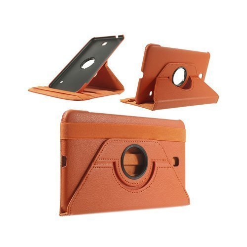 3-Sixty Oranssi Samsung Galaxy Tab 4 8.0 Nahkakotelo