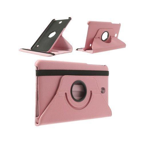 3-Sixty Pinkki Samsung Galaxy Tab 4 8.0 Nahkakotelo