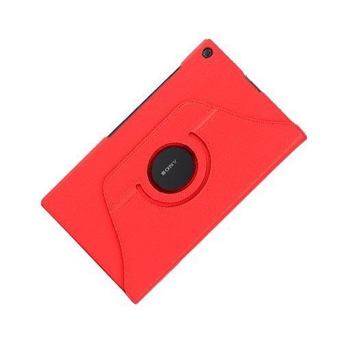 3-Sixty Punainen Sony Xperia Z2 Tablet Nahkakotelo