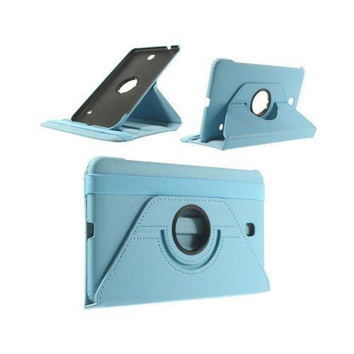 3-Sixty Vaalea Sininen Samsung Galaxy Tab 4 8.0 Nahkakotelo