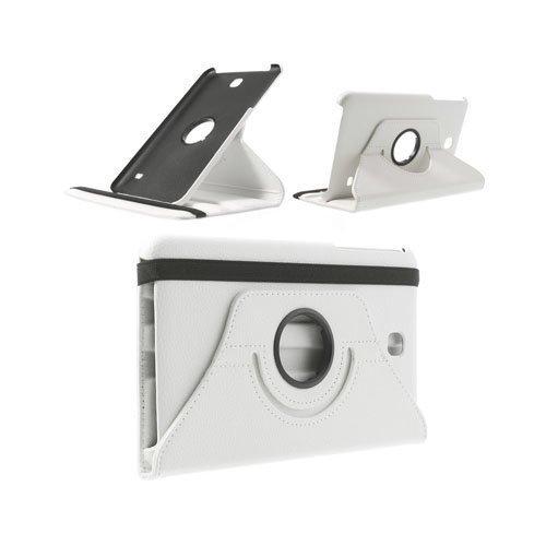 3-Sixty Valkoinen Samsung Galaxy Tab 4 8.0 Nahkakotelo