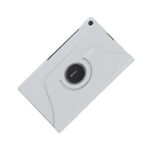 3-Sixty Valkoinen Sony Xperia Z2 Tablet Nahkakotelo