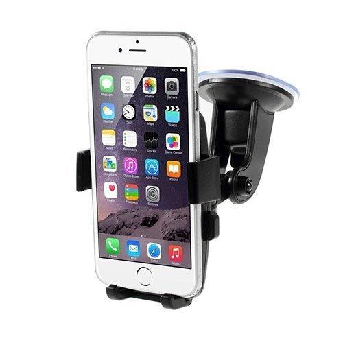 360 Astetta Kääntyvä Autoteline Imukupilla Älypuhelimille