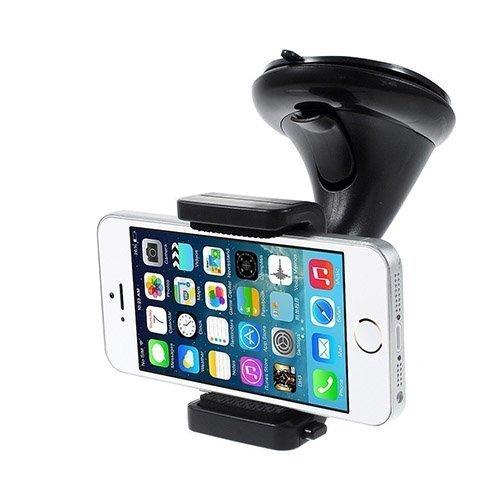 360 Astetta Kääntyvä Pallonivel Autoteline Imukupilla Älypuhelimille