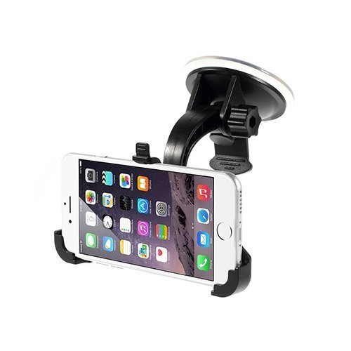 360 Rotation Car Mount Musta For Iphone 6
