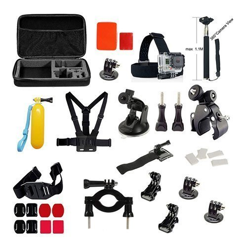 39 In 1 Gopro Outdoor Accessories Kit With Monopod