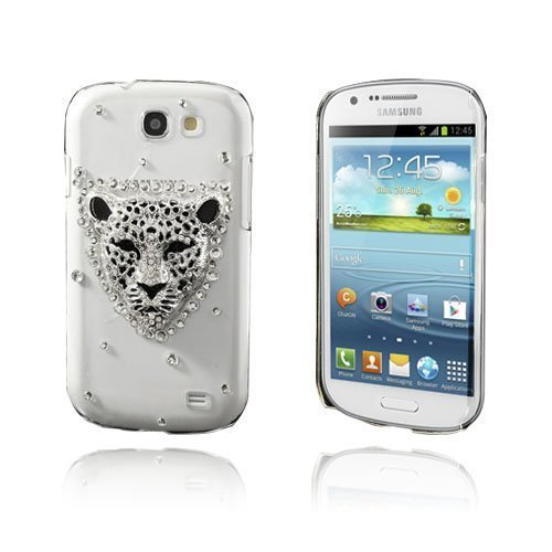 3d Bling Leopardi Samsung Galaxy Express Suojakuori