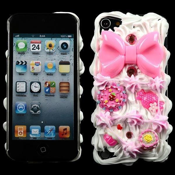 3d Cuties Pinkki Ipod Touch 5 Suojakuori