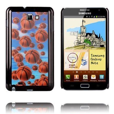 3d Effect Koripallot Samsung Galaxy Note Suojakuori