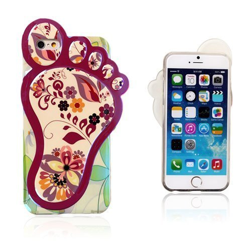 3d Foot Ihastuttava Kasvisto Iphone 6 Suojakuori