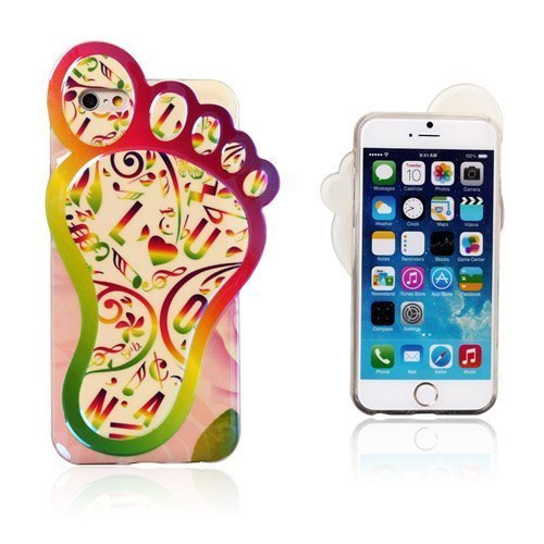 3d Foot Nuotit Iphone 6 Suojakuori