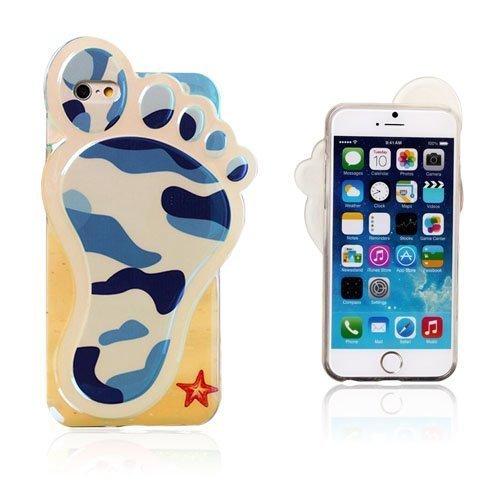3d Foot Sininen Maastokuvio Iphone 6 Suojakuori
