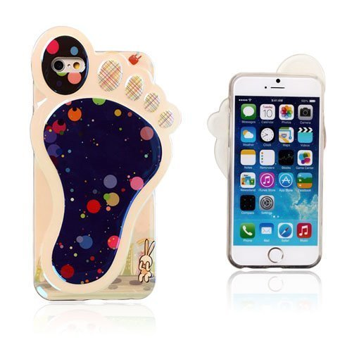 3d Foot Värikkäät Pilkut Iphone 6 Suojakuori