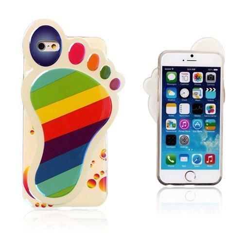 3d Foot Värikkäät Raidat Iphone 6 Suojakuori