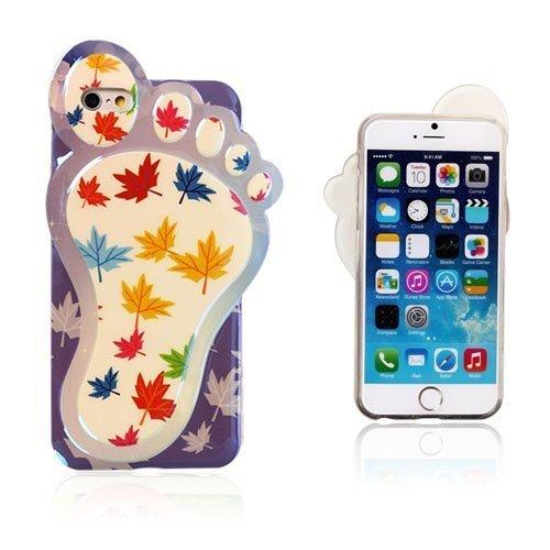 3d Foot Värikkäät Vaahterapuun Lehdet Iphone 6 Suojakuori
