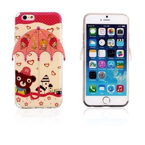 3d Umbrella Eläimet & Tytöt Iphone 6 Suojakuori