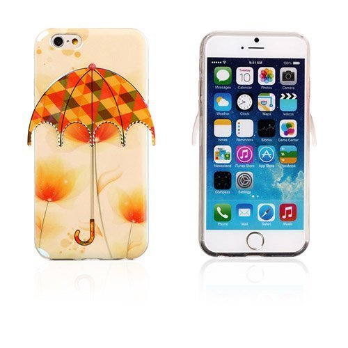 3d Umbrella Kukat & Kolmiot Iphone 6 Suojakuori