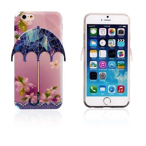 3d Umbrella Kukat & Lasit Iphone 6 Suojakuori