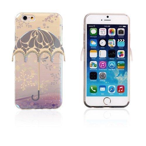 3d Umbrella Lumihiutale & Kuviot Iphone 6 Suojakuori