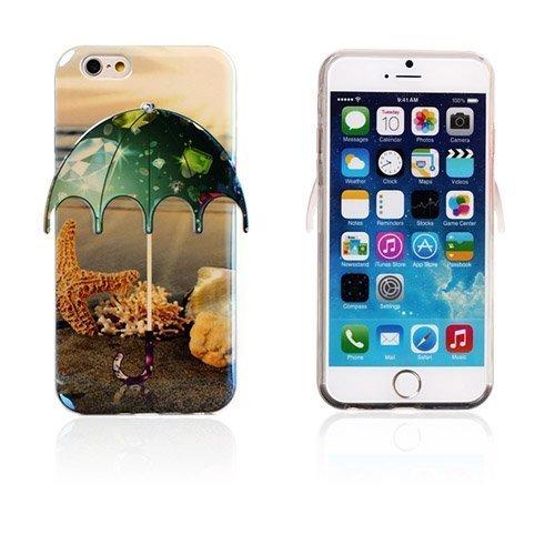 3d Umbrella Meritähti & Timantit Iphone 6 Suojakuori
