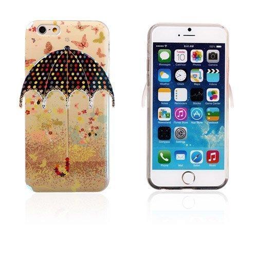 3d Umbrella Perhonen & Pilkut Iphone 6 Suojakuori