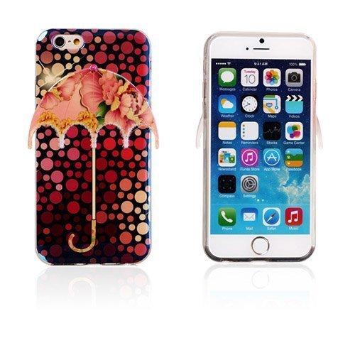 3d Umbrella Pilkut & Pioni Iphone 6 Suojakuori