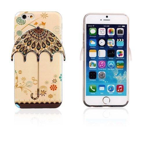 3d Umbrella Riikinkukon Höyhen Iphone 6 Suojakuori