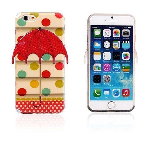 3d Umbrella Värikkäät Pilkut Iphone 6 Suojakuori