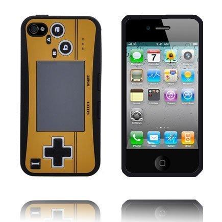 4s Peliohjain Suojakuori Musta Iphone 4s Silikonikuori