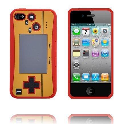 4s Peliohjain Suojakuori Punainen Iphone 4s Silikonikuori