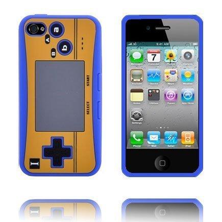4s Peliohjain Suojakuori Sininen Iphone 4s Silikonikuori