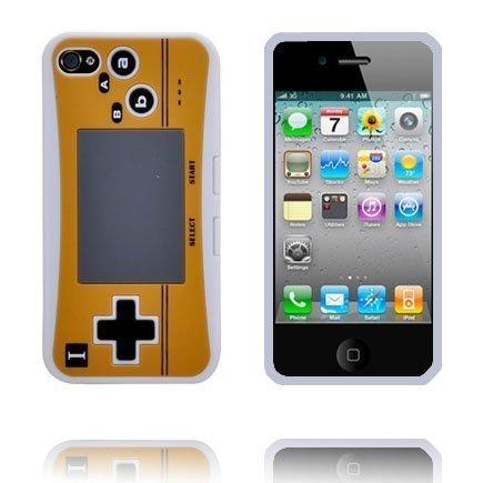 4s Peliohjain Suojakuori Valkoinen Iphone 4s Silikonikuori
